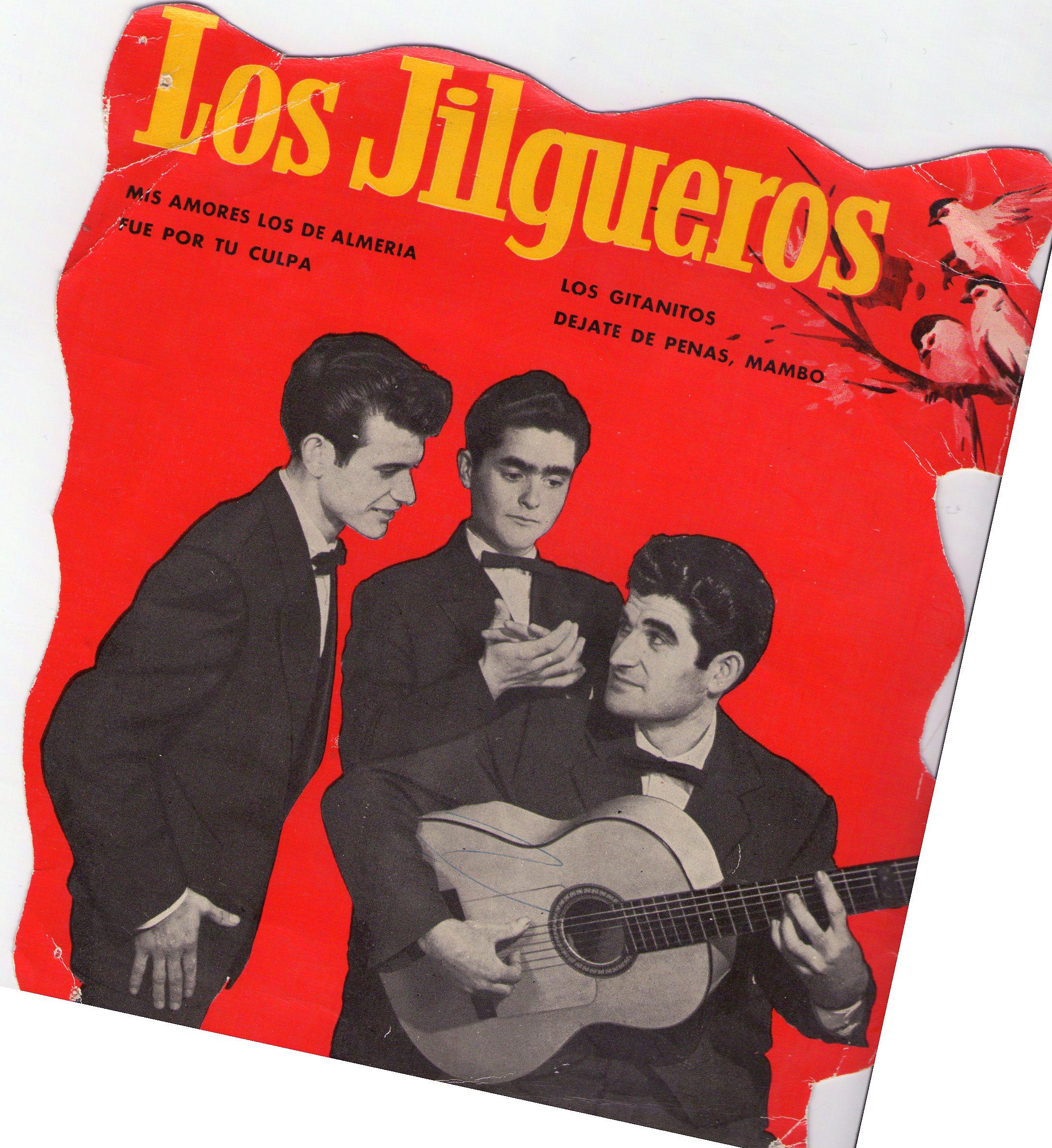 Portada de disco de Los Jilgueros