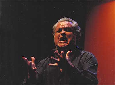 Durante una actuación